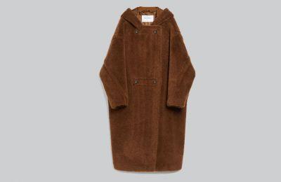 Παλτό σε καφέ χρώμα €1.229 από Max Mara