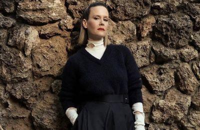 Golden Globes: Η Sarah Paulson φόρεσε το πιο ασυνήθιστο αξεσουάρ