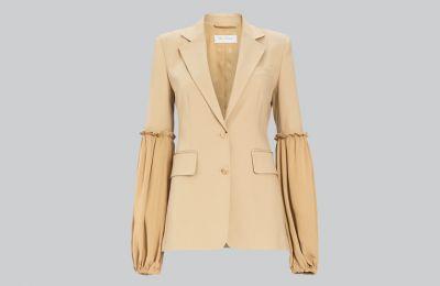 Cotton blazer €1.025 από Max Mara