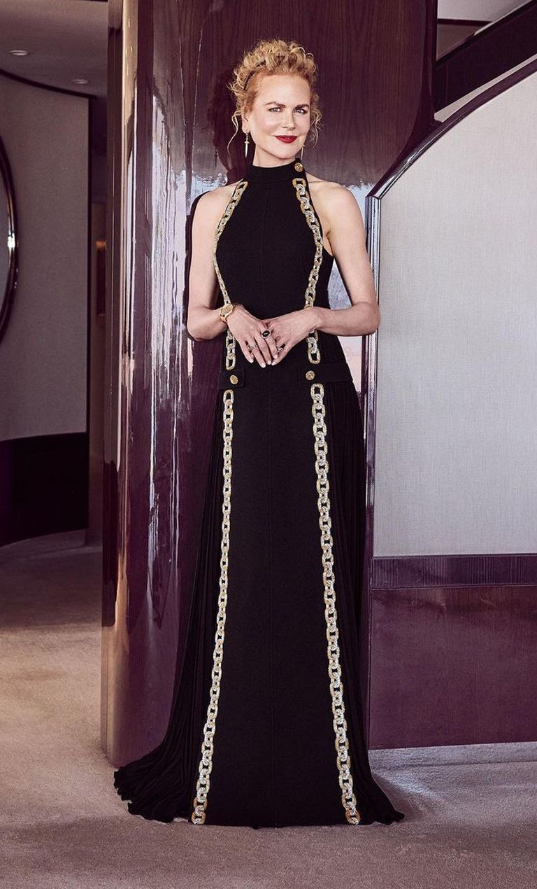 Incredible in a gorgeous black gown