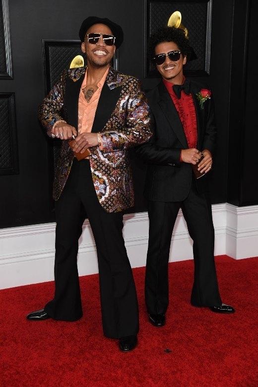 O Anderson .Paak και ο Bruno Mars