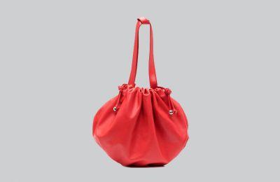 Κόκκινη pouch τσάντα Bottega Veneta €1,800 από Amicci