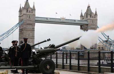 Βρετανία: Τιμητικές βολές στη μνήμη του πρίγκιπα Φιλίππου