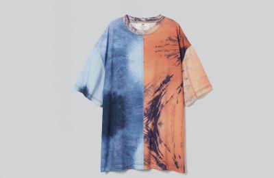 Tie-dye φαρδύ T-shirt €34.99 από H&M