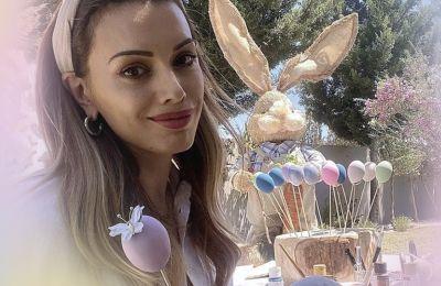 H Εβελίνα Κυράστα μάς δείχνει το πιο διασκεδαστικό DIY για το Πάσχα
