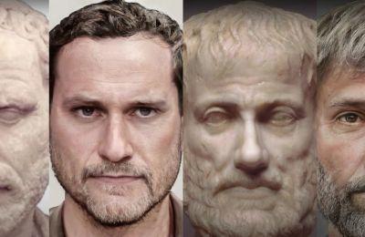 Ένας Κύπριος παρουσιάζει τα αληθινά πρόσωπα των αρχαίων Ελλήνων
