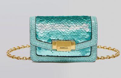 Μικρή τσάντα με παγιέτες €82 από Marella