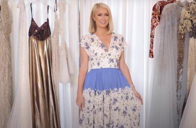 Paris Hilton: Δοκιμάζοντας φορέματα για τα Oscars