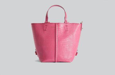 Φούξια crocodile-print τσάντα €529 από Max Mara
