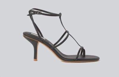 Μαύρα strappy πέδιλα €59.99 από H&M