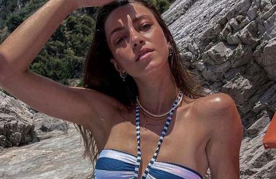 Εβελίνα Σκίτσκο: Στην Ιταλία με το πιο summery σύνολο