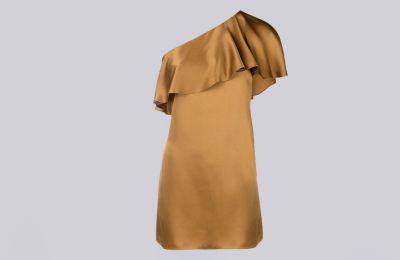 Silk φόρεμα Saint Laurent €1,290 από Amicci
