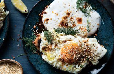 Τηγανητά αυγά με twist