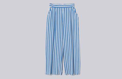 Ριγέ παντελόνι €14.99 από H&M