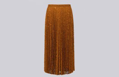 Δαντελωτή πλισέ φούστα €415 από Max Mara