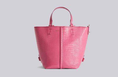 Ροζ bucket τσάντα €529 από Max Mara