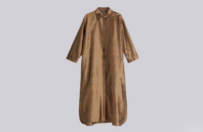 Μεταξωτό και ανάλαφρο shirt dress €529 από Max Mara