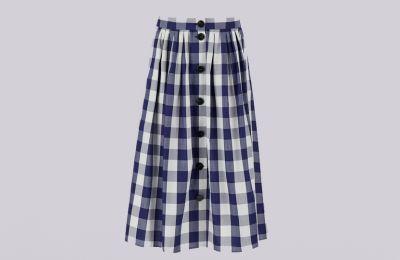 Καρό φούστα €84 από Marella