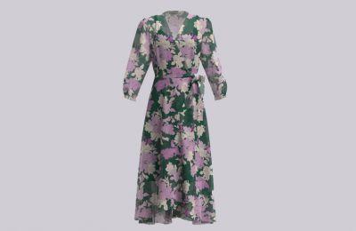 Wrap φόρεμα €327 από Marella