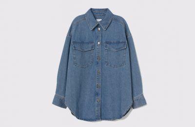 Denim πουκάμισο €29.99 από H&M