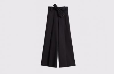 Cotton gabardine παντελόνι €339 από Max Mara