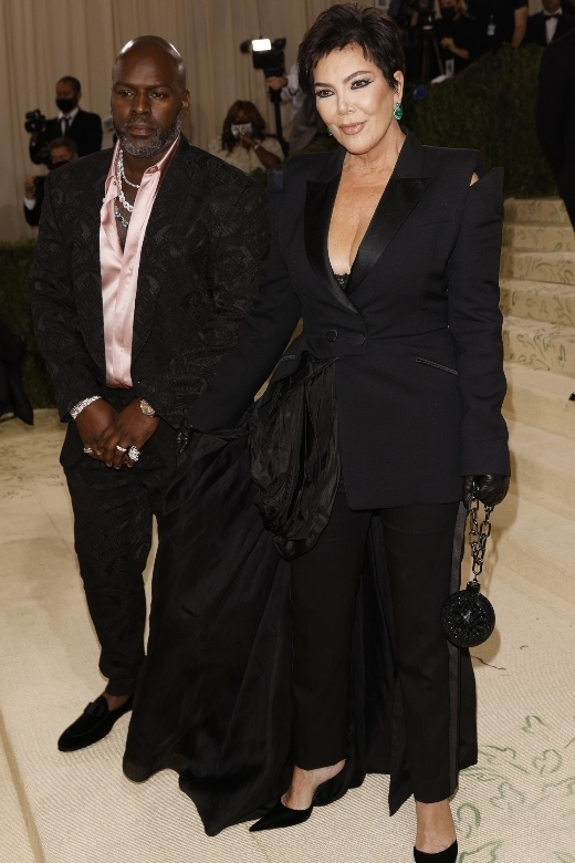 O Corey Gamble και η Kris Jenner