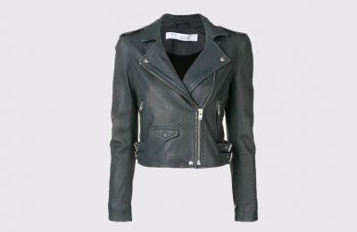 IRO PARIS μαύρο biker σακάκι €940 από MUST Boutique