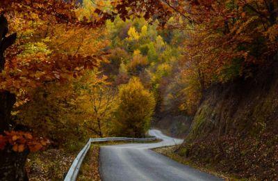 Το φθινόπωρο ο δρόμος οδηγεί σε χωριό