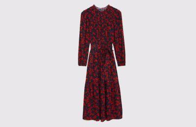 Φλοράλ midi φόρεμα €55 από Marks & Spencer