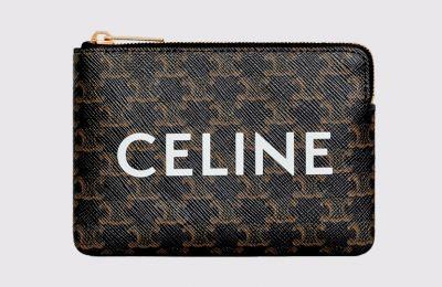 Celine pouch για κάρτες και κέρματα από Cara