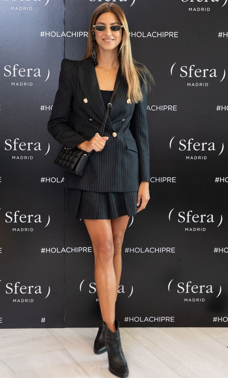 Cool in Skirt Suit