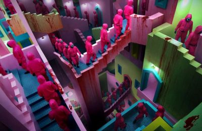 Το κτήριο που ενέπνευσε τους διαδρόμους του ''Squid Game''